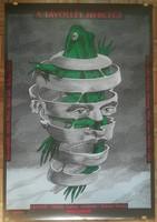 Orosz István eredeti plakátja. A távollét hercege (1991) 80x100 cm