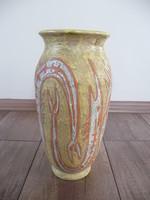 Gorka Lívia kerámia halas váza