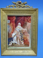 Miniatúra, XVI Lajos, Francia király