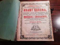 Pongracz Ester - Arany Korona 1862- Imádságos és énekeskönyv
