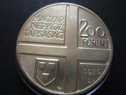 Festők sor 200 forint 1970 Derkovits Gy.
