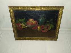 1,-Ft Jelzett gyümölcs csendélet festmény