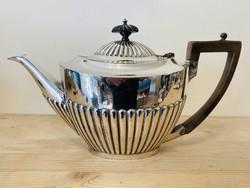 Ezüstözött Angol Empire teás kanna