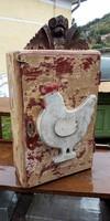 Vintage loft fali tèka szekrèny DIY
