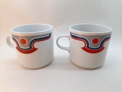 Alföldi porcelán bögre pár