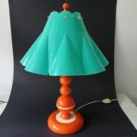Retro, mid century modern asztali lámpa