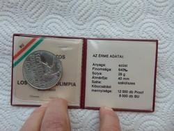 500 forint 1984 ezüst 28 gramm