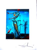 Dali világhírű alkotása - Égő zsiráf!