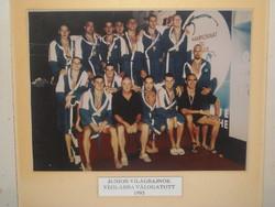 Magyar Junior Világbajnok Vizilabda Válogatott,1995.