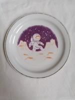 Zsolnay gyerek tányér