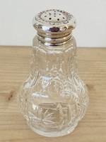 Ezüst Angol sterling sószóró ( talpán csorba van)