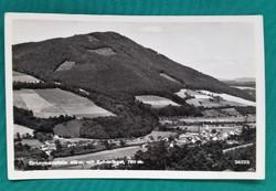 Ausztria,Grimmenstein és  Kulmriegel postatiszta fekete-fehér képeslap