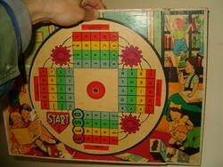 2 darab régi társasjáték  tábla retró szocreál trafik áru gyerek játék egyben