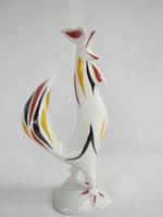 Drasche Kőbányai porcelán art deco kakas