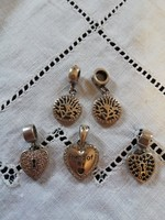 Eladó gyönyörű ezüst Pandora jellegű momens charms-ok!
