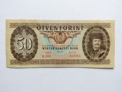 """50 forintos papirpénz 1951  """"D""""  RITKA   UNC"""