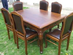 Étkező garnitúra asztal szék