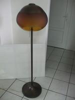 Réz lámpa iparművész Idea állólámpa