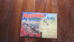 PASADENA - California  16 képes leporello, 1962