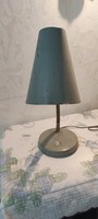 Eredeti retro Loft ,asztali lámpa nem működik.öntött vas talp, műhely làmpa.