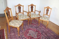 Neobarokk szék garnitúra