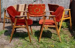Ritka Retro Claus székek Nagyon Stabil nagyon Kényelmes dizájn szék