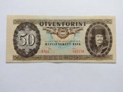 """50 forintos papirpénz 1980  """"H""""  UNC"""