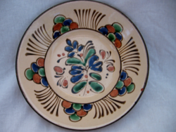 Szolnok 900 éves 1975 emlék tányér, tál
