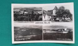Ausztria,Lichtenegg 760 M,használt fekete-fehér képeslap