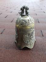 Nepáli templomba hívó antik csengő