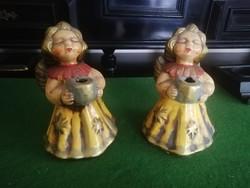 Thun kerámia angyalok párban