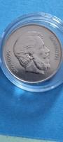 Verdefényes, vastag 1946 ezüst Kossuth 5 forint kapszulában
