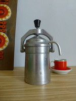 Eredeti magyar,retro,sosem használt Szarvasi 4 személyes kávéfőző dobozával,papírjával