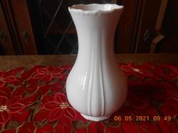 Zsolnay porcelán barokk, fehér váza