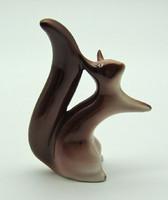 B602 Porcelán mókus - szép hibátlan állapotban
