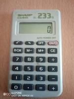 Sharon EL-233-G számológép az 1970-es évekből