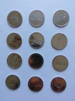 50 forintos 12 db különböző UNC
