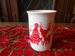Zsolnay porcelán karácsonyi bögre