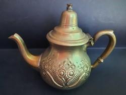 Marque Déposée ezüstözött réz kanna, arab.8900.-Ft