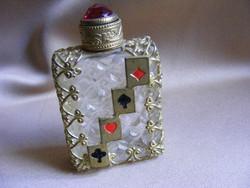 Kicsi régi parfümös üveg