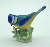 B593 Német porcelán énekes madár - szép hibátlan állapotban