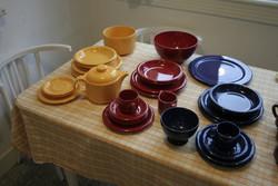 Colorful modern ceramic tableware German waechtersbach
