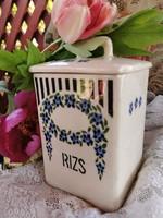 Antik fűszertartó-Rizs