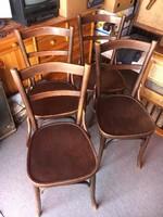 Thonet szék garnitúra,székpár,4 db szék