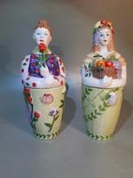 Willeroy&Boch porcelán figurális tároló fűszeres