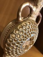 Zsolnay váza méhsejt sorozatból