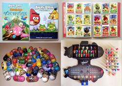 Régi retró játék gyűjtemény: Mighty Beanz, Angry Birds, Stikeez csomag gyűjtőknek