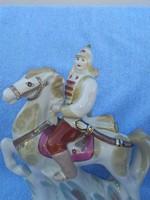 Orosz cári lovas porcelán