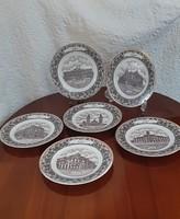4376 Decobex porcelán disztányér ( Szeged)