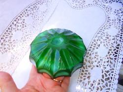 Malahit üveg hamutál (Bohémia)